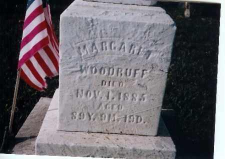 WOODRUFF, MARGARET - Shelby County, Ohio | MARGARET WOODRUFF - Ohio Gravestone Photos