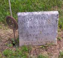 WOOLLEY, AMOS - Shelby County, Ohio | AMOS WOOLLEY - Ohio Gravestone Photos