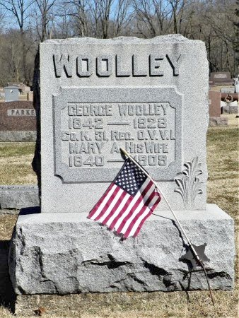 WOOLLEY, MARY A. - Shelby County, Ohio | MARY A. WOOLLEY - Ohio Gravestone Photos