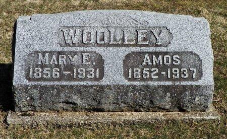 WOOLLEY, MARY E.  - Shelby County, Ohio | MARY E.  WOOLLEY - Ohio Gravestone Photos