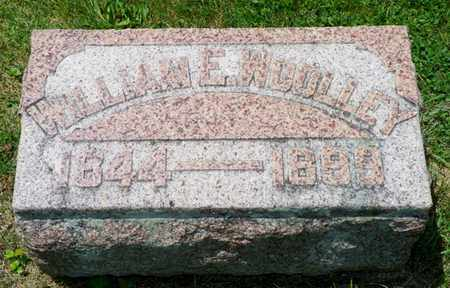WOOLLEY, WILLIAM E. - Shelby County, Ohio | WILLIAM E. WOOLLEY - Ohio Gravestone Photos