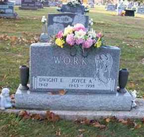 WORK, DWIGHT E. - Shelby County, Ohio   DWIGHT E. WORK - Ohio Gravestone Photos