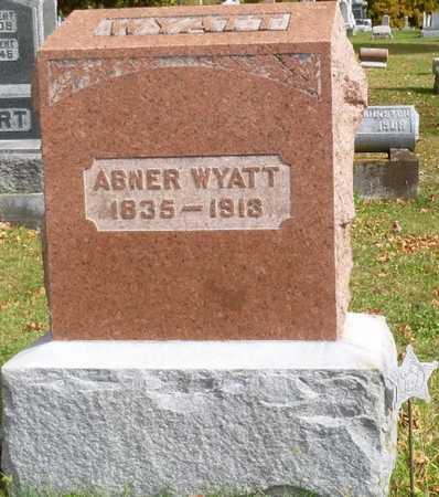 WYATT, ABNER - Shelby County, Ohio | ABNER WYATT - Ohio Gravestone Photos