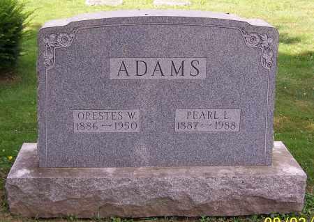 ADAMS, PEARL L. - Stark County, Ohio | PEARL L. ADAMS - Ohio Gravestone Photos
