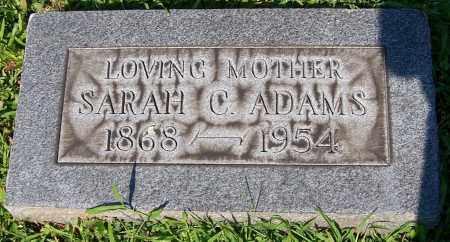 ADAMS, SARAH C. - Stark County, Ohio | SARAH C. ADAMS - Ohio Gravestone Photos