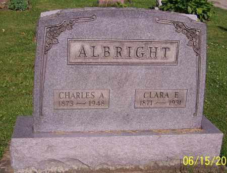 ALBRIGHT, CHARLES A. - Stark County, Ohio   CHARLES A. ALBRIGHT - Ohio Gravestone Photos