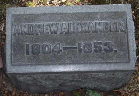 ALEXANDER, ANDREW - Stark County, Ohio | ANDREW ALEXANDER - Ohio Gravestone Photos