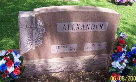 ALEXANDER, RUTH - Stark County, Ohio | RUTH ALEXANDER - Ohio Gravestone Photos