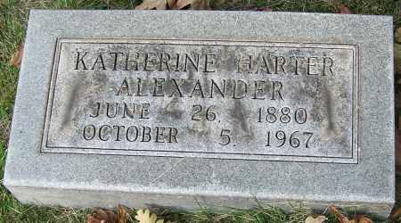 ALEXANDER, KATHERINE HARTER - Stark County, Ohio   KATHERINE HARTER ALEXANDER - Ohio Gravestone Photos