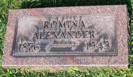 ALEXANDER, ROMINA - Stark County, Ohio | ROMINA ALEXANDER - Ohio Gravestone Photos