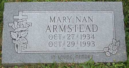 ARMSTEAD, MARY NAN - Stark County, Ohio | MARY NAN ARMSTEAD - Ohio Gravestone Photos