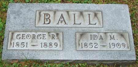 BALL, IDA M. - Stark County, Ohio | IDA M. BALL - Ohio Gravestone Photos