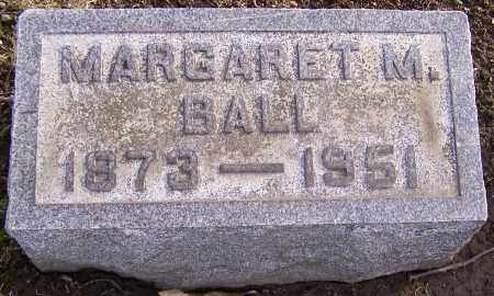 BALL, MARGARET M. - Stark County, Ohio   MARGARET M. BALL - Ohio Gravestone Photos