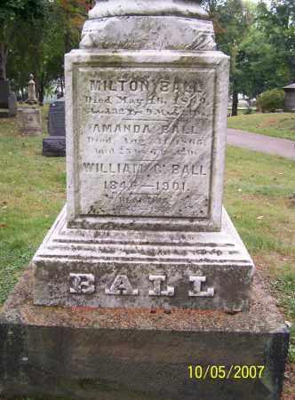 BALL, AMANDA - Stark County, Ohio | AMANDA BALL - Ohio Gravestone Photos