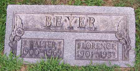 BEYER, WALTER H. - Stark County, Ohio   WALTER H. BEYER - Ohio Gravestone Photos