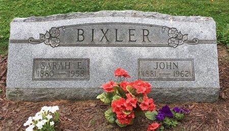BIXLER, SARAH E. - Stark County, Ohio | SARAH E. BIXLER - Ohio Gravestone Photos