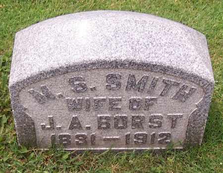 BORST, M.S. - Stark County, Ohio | M.S. BORST - Ohio Gravestone Photos
