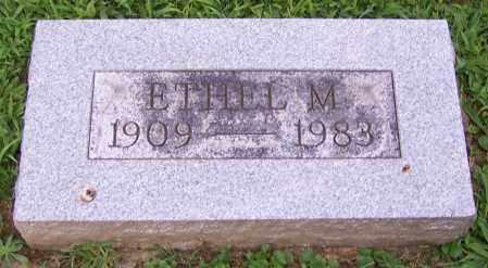 BRETING, ETHEL M. - Stark County, Ohio   ETHEL M. BRETING - Ohio Gravestone Photos