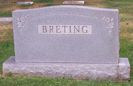BRETING, FAMILY - Stark County, Ohio   FAMILY BRETING - Ohio Gravestone Photos