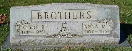 BROTHERS, CLYDE B. - Stark County, Ohio | CLYDE B. BROTHERS - Ohio Gravestone Photos