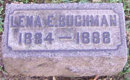 BUCHMAN, LENA E. - Stark County, Ohio   LENA E. BUCHMAN - Ohio Gravestone Photos