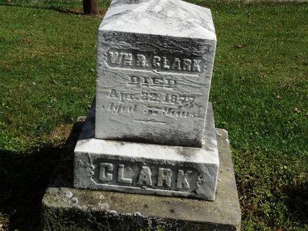 CLARK, WM. R. - Stark County, Ohio | WM. R. CLARK - Ohio Gravestone Photos