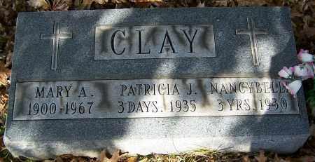 CLAY, MARY A. - Stark County, Ohio | MARY A. CLAY - Ohio Gravestone Photos