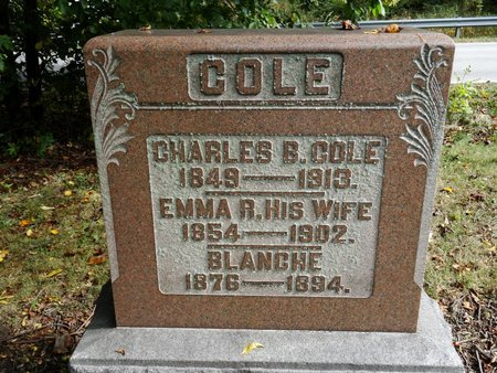 COLE, EMMA R. - Stark County, Ohio | EMMA R. COLE - Ohio Gravestone Photos