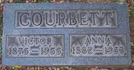 COURBETT, ANNA - Stark County, Ohio | ANNA COURBETT - Ohio Gravestone Photos
