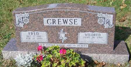 CREWSE, MILDRED - Stark County, Ohio | MILDRED CREWSE - Ohio Gravestone Photos
