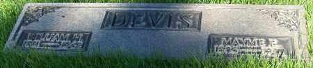 DEVIS, WILLIAM H. - Stark County, Ohio | WILLIAM H. DEVIS - Ohio Gravestone Photos