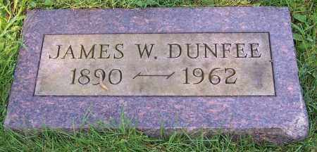 DUNFEE, JAMES W. - Stark County, Ohio | JAMES W. DUNFEE - Ohio Gravestone Photos