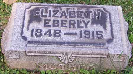 EBERLY, ELIZABETH - Stark County, Ohio   ELIZABETH EBERLY - Ohio Gravestone Photos