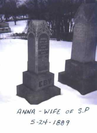 EBY, ANNA - Stark County, Ohio | ANNA EBY - Ohio Gravestone Photos