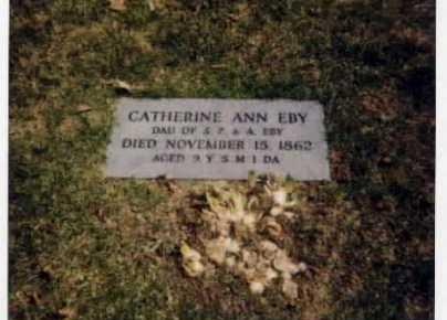 EBY, CATHERINE ANN - Stark County, Ohio   CATHERINE ANN EBY - Ohio Gravestone Photos