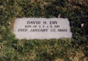 EBY, DAVID H. - Stark County, Ohio | DAVID H. EBY - Ohio Gravestone Photos