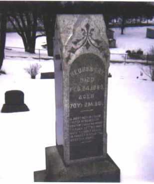 EBY, REUBEN - Stark County, Ohio | REUBEN EBY - Ohio Gravestone Photos