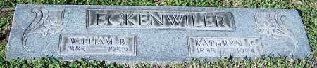 ECKENWILER, WILLIAM B. - Stark County, Ohio | WILLIAM B. ECKENWILER - Ohio Gravestone Photos