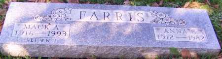 FARRIS, MACK A. - Stark County, Ohio | MACK A. FARRIS - Ohio Gravestone Photos
