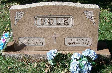 FOLK, CHRIS C. - Stark County, Ohio   CHRIS C. FOLK - Ohio Gravestone Photos