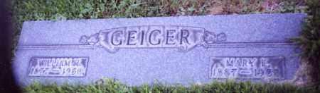 GEIGER, WILLIAM H. - Stark County, Ohio   WILLIAM H. GEIGER - Ohio Gravestone Photos