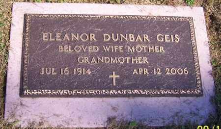 GEIS, ELEANOR - Stark County, Ohio | ELEANOR GEIS - Ohio Gravestone Photos