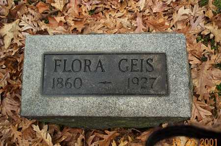 GEIS GEIS, FLORA - Stark County, Ohio | FLORA GEIS GEIS - Ohio Gravestone Photos