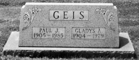 GEIS, GLADYS A. - Stark County, Ohio | GLADYS A. GEIS - Ohio Gravestone Photos