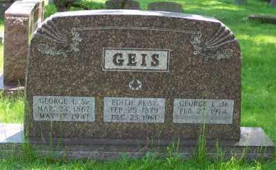 GEIS, GEORGE L. SR. - Stark County, Ohio | GEORGE L. SR. GEIS - Ohio Gravestone Photos