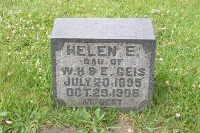 GEIS, HELEN E. - Stark County, Ohio   HELEN E. GEIS - Ohio Gravestone Photos