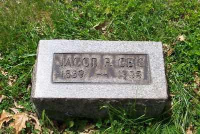 GEIS, JACOB P. - Stark County, Ohio   JACOB P. GEIS - Ohio Gravestone Photos
