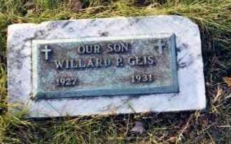 GEIS, WILLARD P. - Stark County, Ohio   WILLARD P. GEIS - Ohio Gravestone Photos