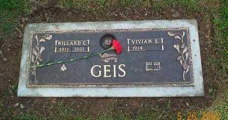 GEIS, VIVIAN E. - Stark County, Ohio | VIVIAN E. GEIS - Ohio Gravestone Photos