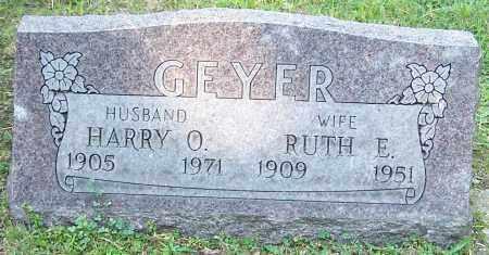 GEYER, HARRY O. - Stark County, Ohio   HARRY O. GEYER - Ohio Gravestone Photos